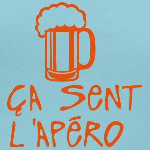 ca sent apero biere alcool humour Tee shirts - T-shirt col rond U Femme
