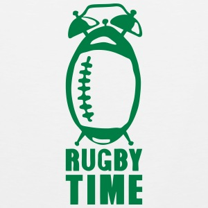 Rugby time alarm clock ringtone balloon Sports wear - Men's Premium Tank Top