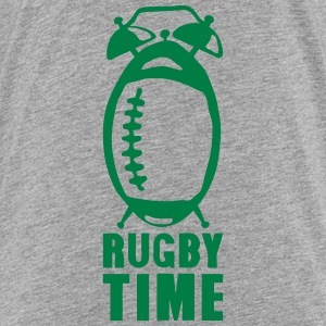 Rugby time alarm clock ringtone balloon Shirts - Kids' Premium T-Shirt