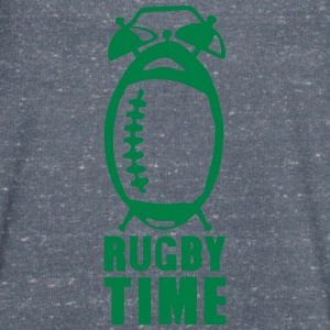 Rugby time alarm clock ringtone balloon T-Shirts - Men's V-Neck T-Shirt