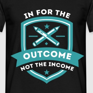 Teacher- for the outcome T-Shirts - Men's T-Shirt