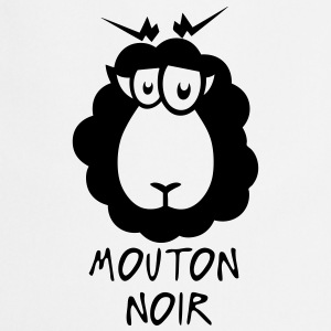 mouton noir citation dessin Tabliers - Tablier de cuisine