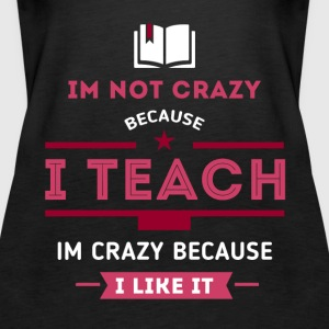 I teach, I like it Tops - Women's Premium Tank Top