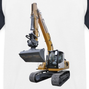 excavator Shirts - Kids' Baseball T-Shirt
