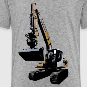 excavator T-shirts - Teenager premium T-shirt