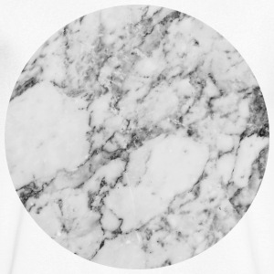 AD Silver Moon Marble T-shirts - Mannen T-shirt met V-hals