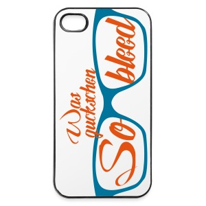 Was guckschen so bleed ?! Handy - iPhone 4/4s Hard Case