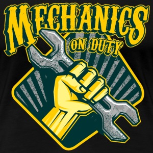 SSD Mechanics on duty - RAHMENLOS KFZ Mechaniker Style Design T-Shirts - Frauen Premium T-Shirt
