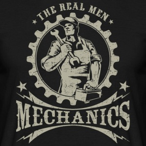SSD Mechanics - The Real Men - RAHMENLOS Workwear Retro Style Design T-Shirts - Männer T-Shirt