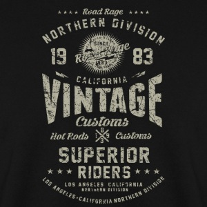 SSD Vintage Nothern Division RAHMENLOS Biker Design Motorcycle retro grey used Pullover & Hoodies - Männer Pullover