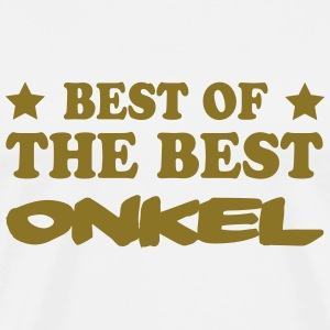 Best of the best onkel T-skjorter - Premium T-skjorte for menn