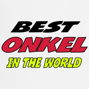Best onkel in the world Forklær - Kokkeforkle