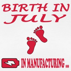 Birth in july T-Shirts