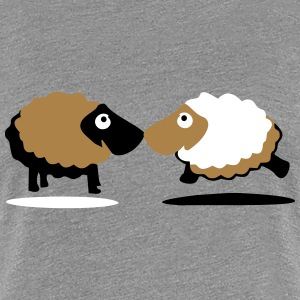 sheep T-shirts - Premium-T-shirt dam