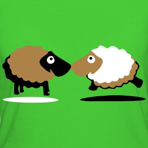 sheep T-shirts - Organic damer