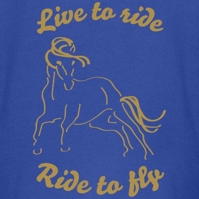 Live to ride, Kinderjacke