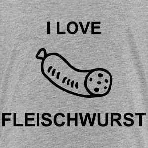I Love Fleischwurst T-Shirts - Teenager Premium T-Shirt