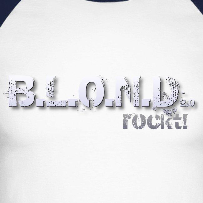 B.L.O.N.D. - Baseballshirt langarm