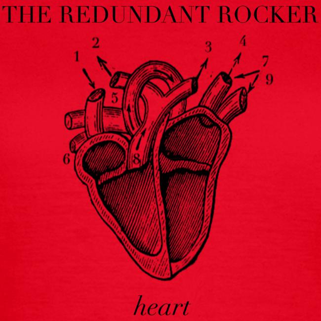The Redundant Rocker - Heart (Girls)