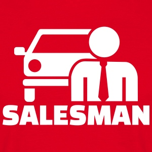 Car salesman T-Shirts - Männer T-Shirt