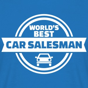 Best car salesman T-Shirts - Männer T-Shirt