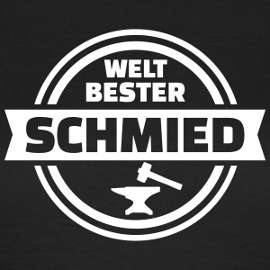 Bester Schmied T-Shirts - Frauen T-Shirt