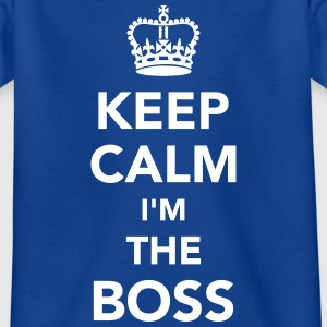 I'm the boss T-Shirts - Kinder T-Shirt