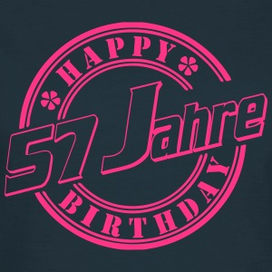57 Happy Birthday Siegel  T-Shirts - Frauen T-Shirt