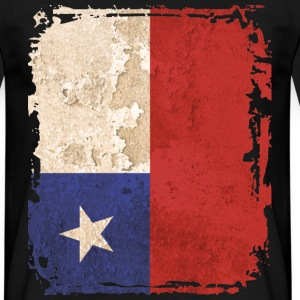 Chile Art Flag - Men's T-Shirt