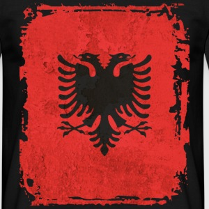 Albania Art Flag - Men's T-Shirt