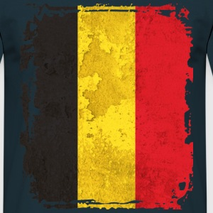 Belgium Art Flag - Men's T-Shirt