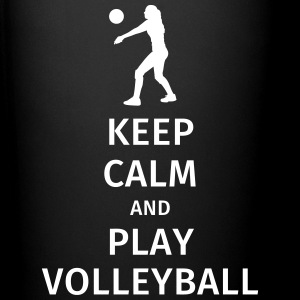 keep calm and play volleyball Bouteilles et Tasses - Tasse en couleur