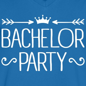 Bachelor Party Tee shirts - T-shirt Homme col V