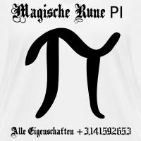 """Nerd T-Shirts mit """"magische rune pi"""""""