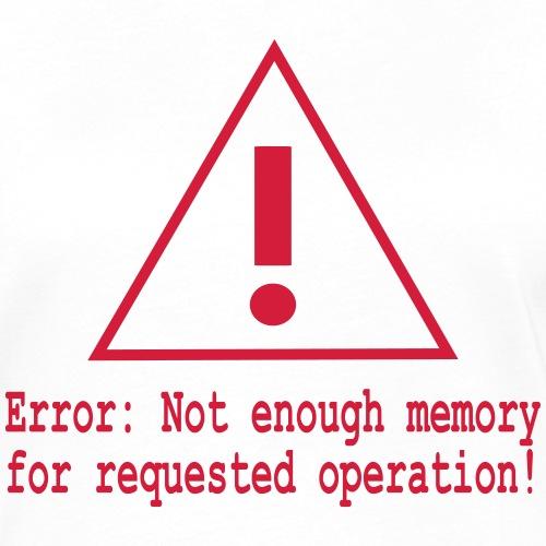 Memory Software Error Nerd