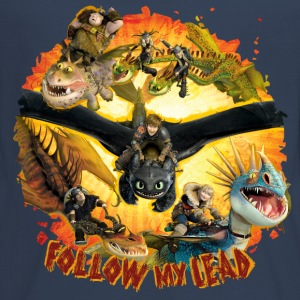 DreamWorks Dragons 'Follow my lead' Teenager Langa - Teenager Premium Langarmshirt