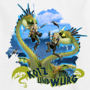 DreamWorks Dragons 'Kotz und Würg' Teenager T-Shi - Teenager T-Shirt