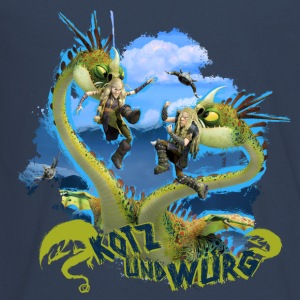 DreamWorks Dragons 'Kotz und Würg' Teenager Langa - Teenager Premium Langarmshirt