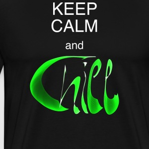MännerShirt Keep calm and chill - Männer Premium T-Shirt