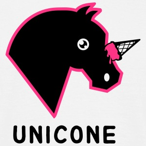 Unicone - Unicorn Ice Cream Cone Fun Design T-Shirts - Männer T-Shirt