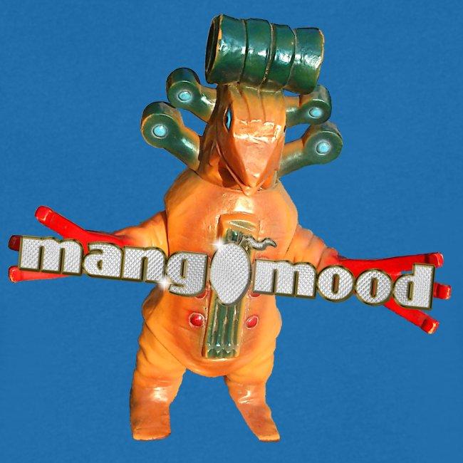 Männer T-Shirt mit V-Ausschnitt und mangomood Monster