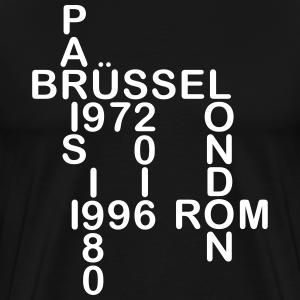 Europameister Städte mit Zahlen