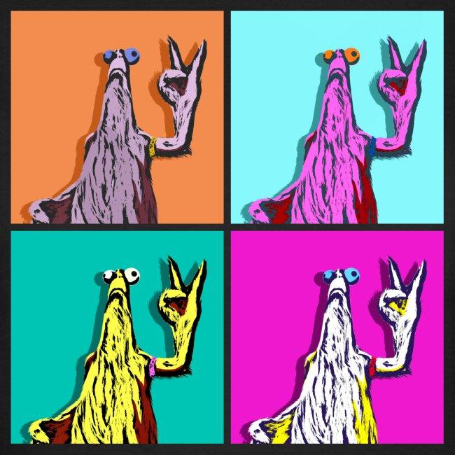 Warhol-Critter Ladies T- Shirt