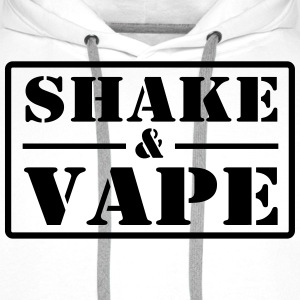 Vape Design Vape n Shake Sweat-shirts - Sweat-shirt à capuche Premium pour hommes