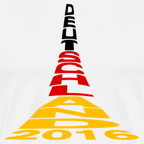 Deutschland 2016 Eifelturm in Farbe