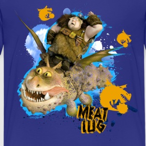 DreamWorks Dragons 'Meatlug' Teenager T-Shirt - Teenage Premium T-Shirt