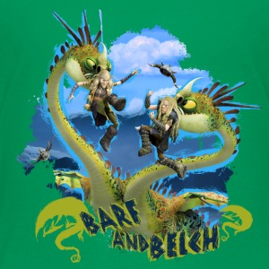 DreamWorks Dragons 'Barf and Belch' Teenager T-Shi - Teenage Premium T-Shirt