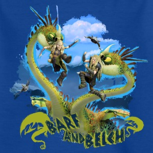 DreamWorks Dragons 'Barf and Belch' Teenager T-Shi - Teenage T-shirt