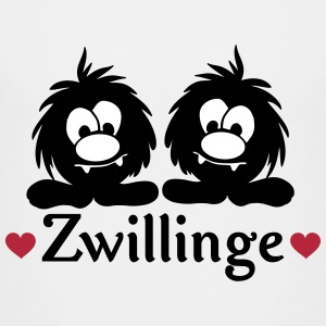 zwillinge monster jungs T-Shirts - Kinder Premium T-Shirt