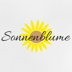 strahlende-sonnenblume Baby T-Shirts